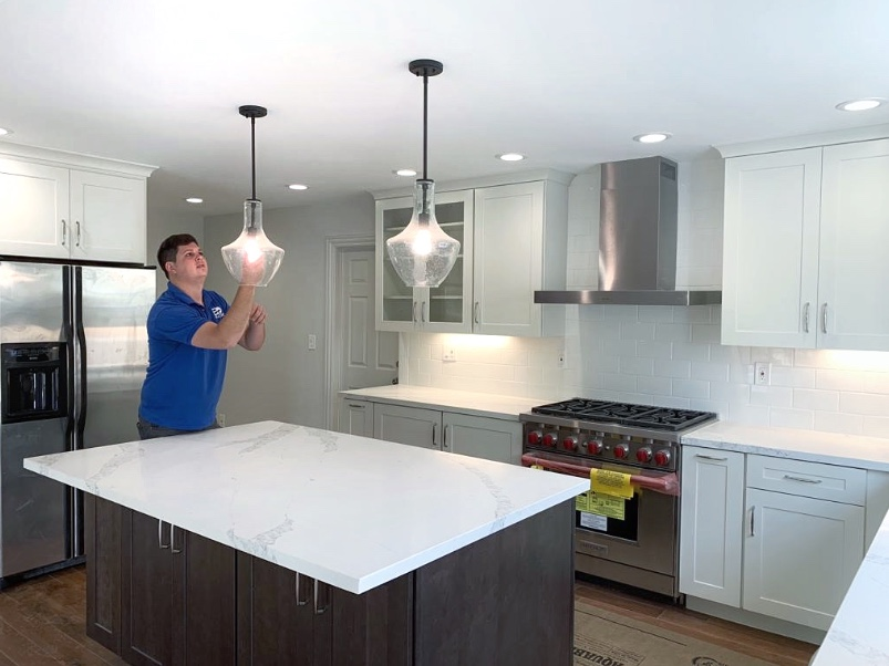 Structural Beam Load Bearing Wall Kitchen Remodeling Eol Builders 25 Eol Builders Home Improvement